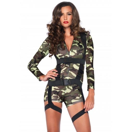 Image of 2-delig sexy leger kostuum voor dames