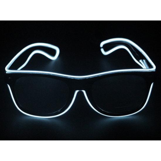 14efe02fe0757a Image of Bril met witte LED verlichting