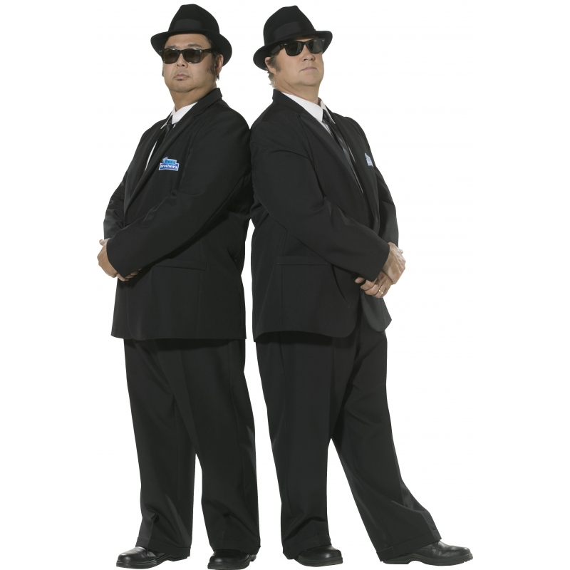 Carnaval Blues Brothers kostuum