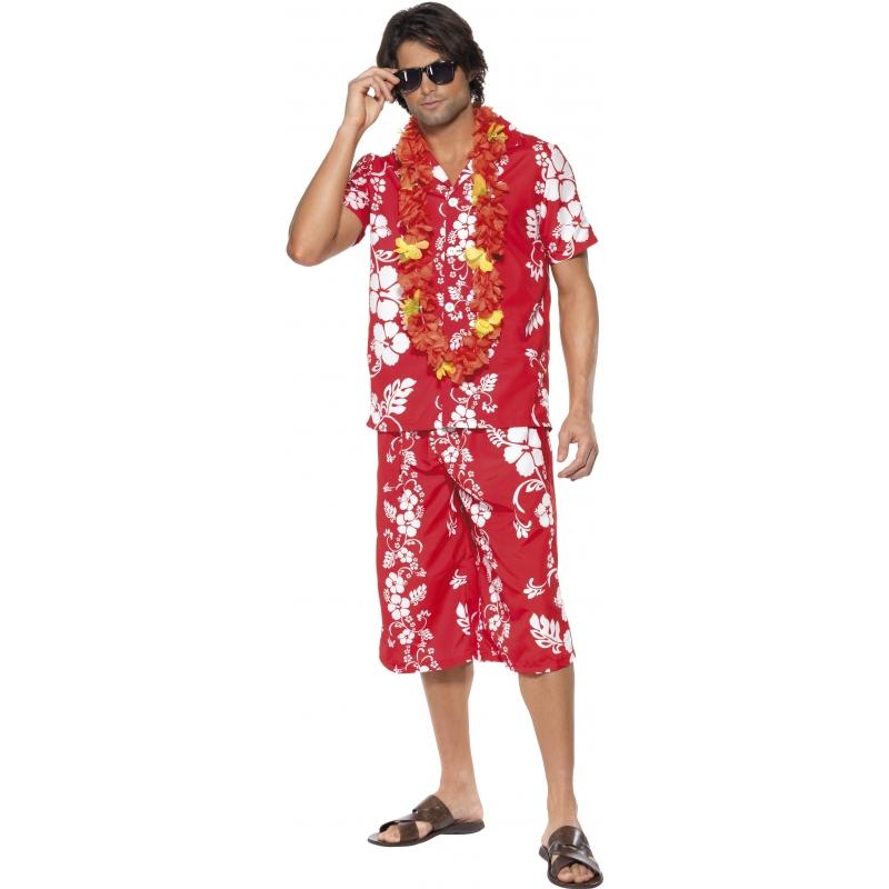 Carnaval Hawaii blouse en korte broek