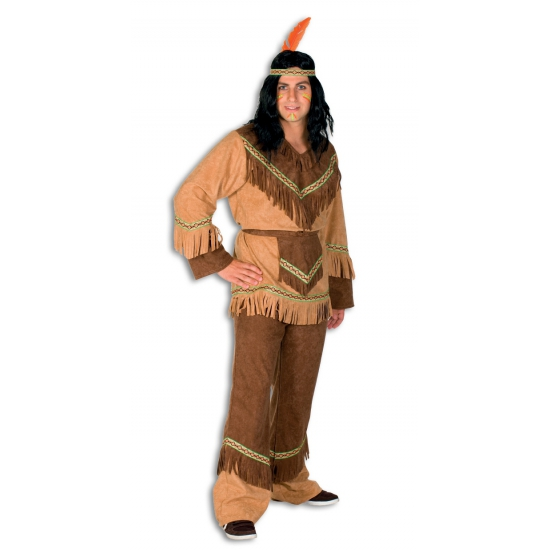 Carnaval Indianen verkleedkleding voor heren