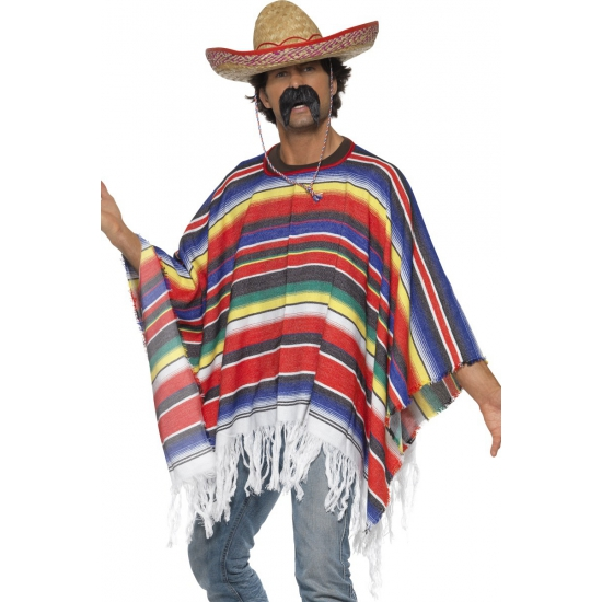 Carnaval Mexicaanse poncho