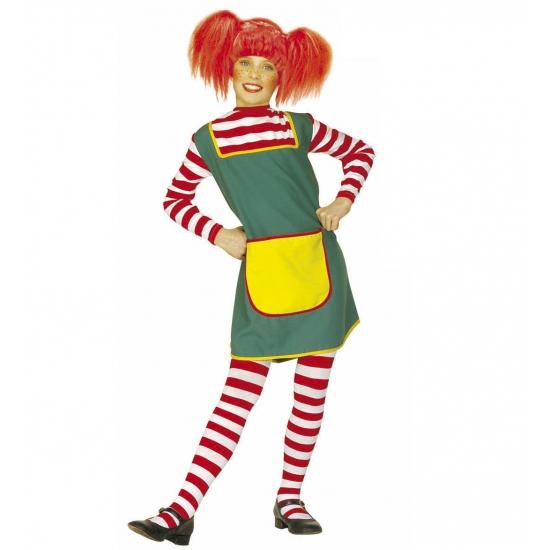 Carnaval roodharig meisje kostuum voor meiden