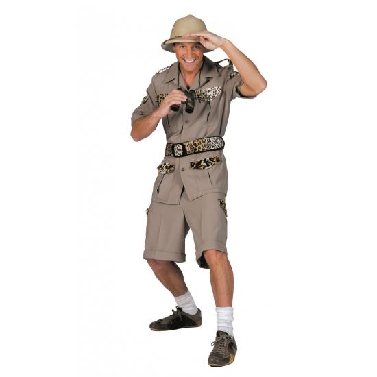 Carnaval Safari kostuum voor heren