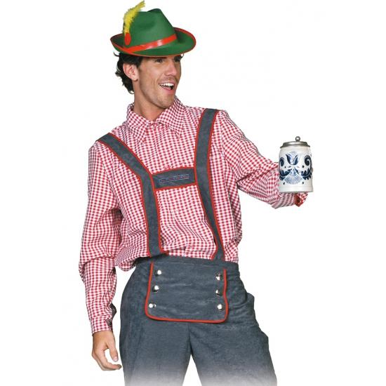 Carnaval Tiroler blouse voor heren