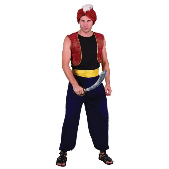 Carnavalskostuum Sultan heren outfit