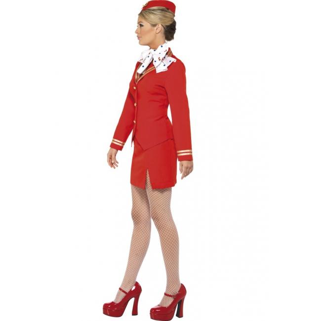 Dames stewardess kostuum