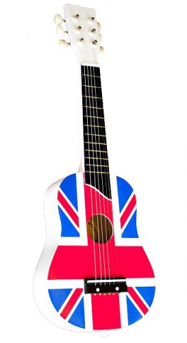 Engelse speelgoed gitaar