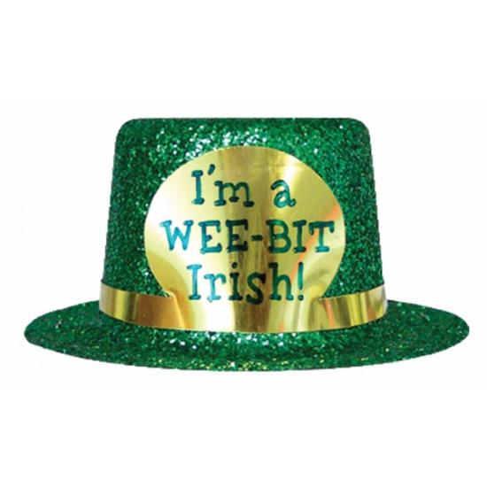 Glitter St. Patricks Day hoedje