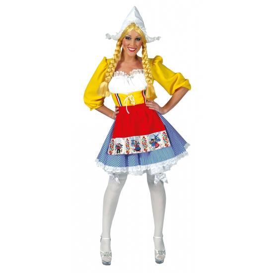 Hollandse jurk met schort