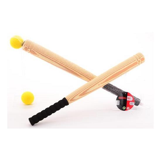 Honkbal knuppel 53 cm van foam