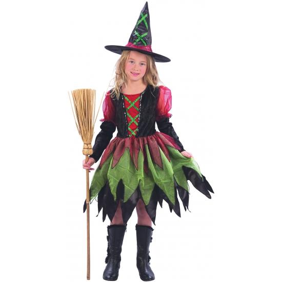 Luxe heksenjurk voor meisjes