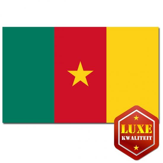 Luxe vlag Kameroen