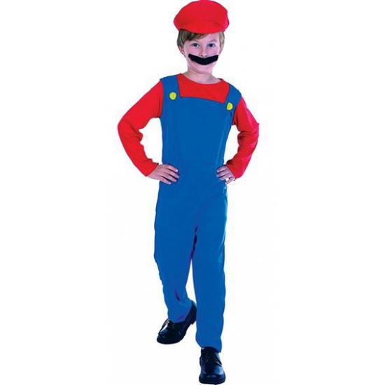 Mario fun kostuum voor kids