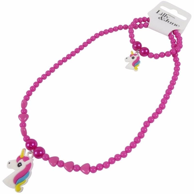 geen Meisjes sieraden setje met eenhoorn online kopen