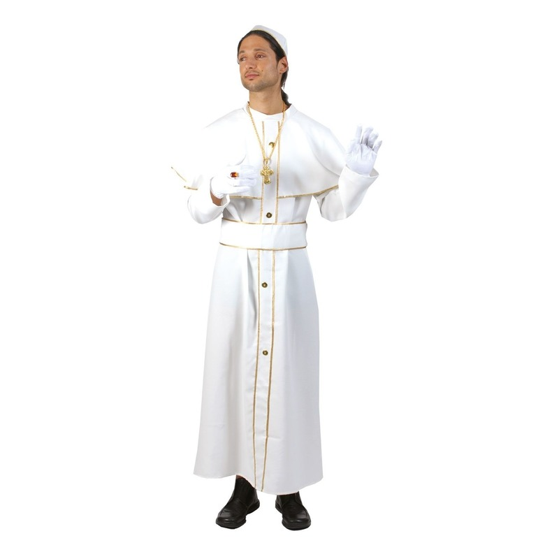 Paus kostuums voor heren