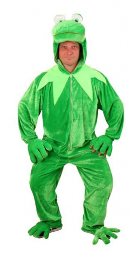 Pluche Kermit de Kikker pak