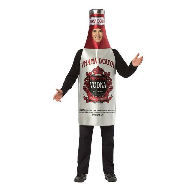 Russische wodka verkleedkleding