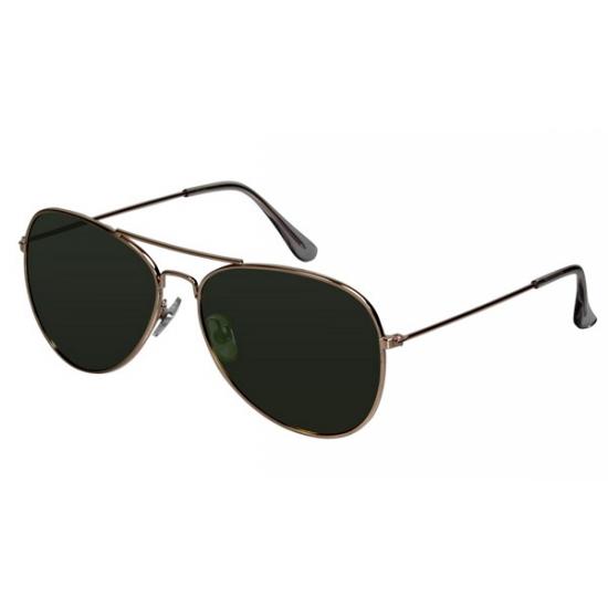 03f67487eabd40 Toxic aviator piloten zonnebril groen