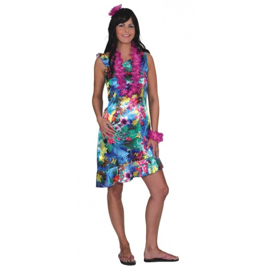Tropical thema dames jurk
