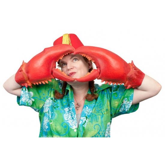 Verkleed accessoires krabben klauwen