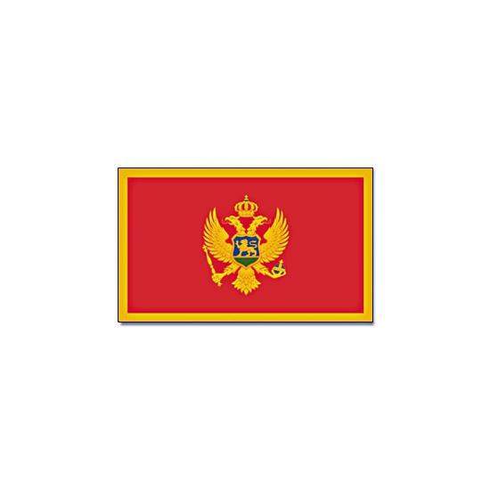 Vlag Montenegro 90 x 150 cm