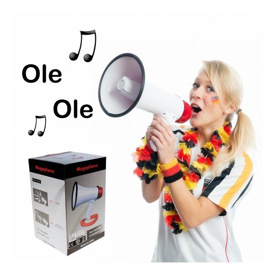 Voetbal megafoons