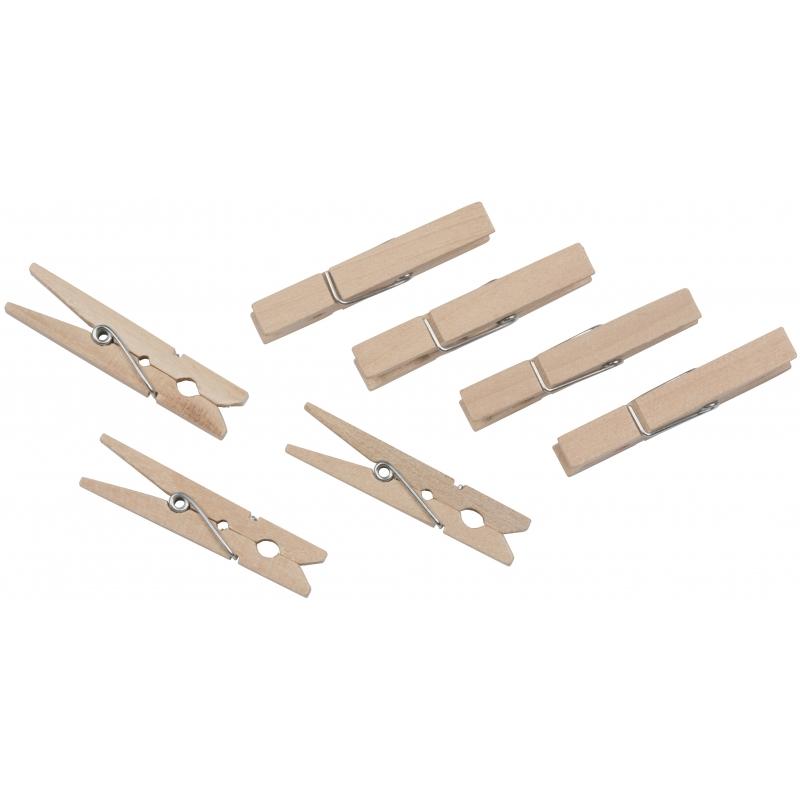 Voordelige houten wasknijpers