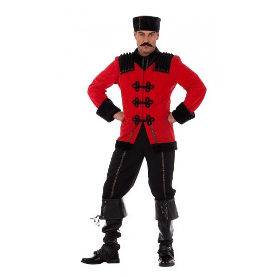 Landen kostuums Carnavalskostuum winkel 3 delig Kozak kostuum voor heren