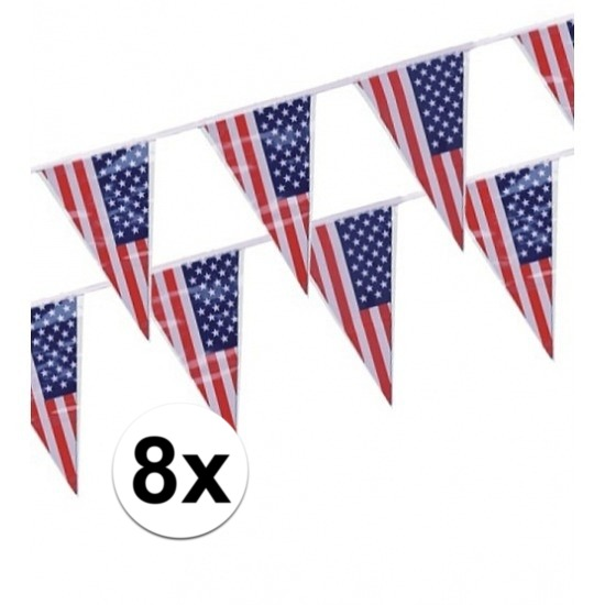 8x-stuks-vlaggenlijnen-amerikausa