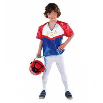 American Football speler verkleedkleding Carnavalskostuum winkel Hoge kwaliteit