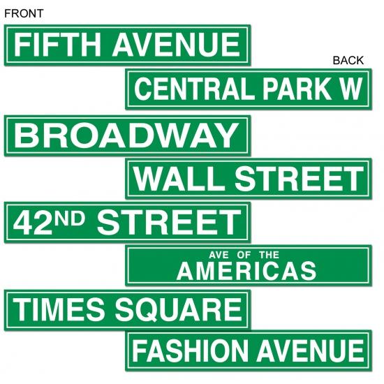 Amerika thema borden New York
