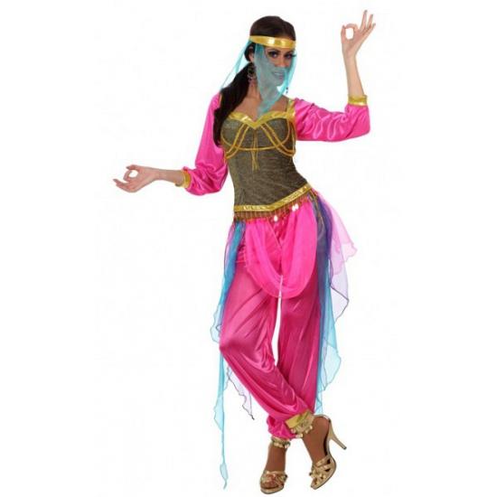 Arabische danseressen outfit