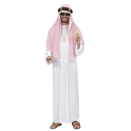 Arabische olie sjeik kostuum