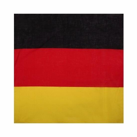 Landen versiering en vlaggen Geen Bandana Duitsland voor volwassenen