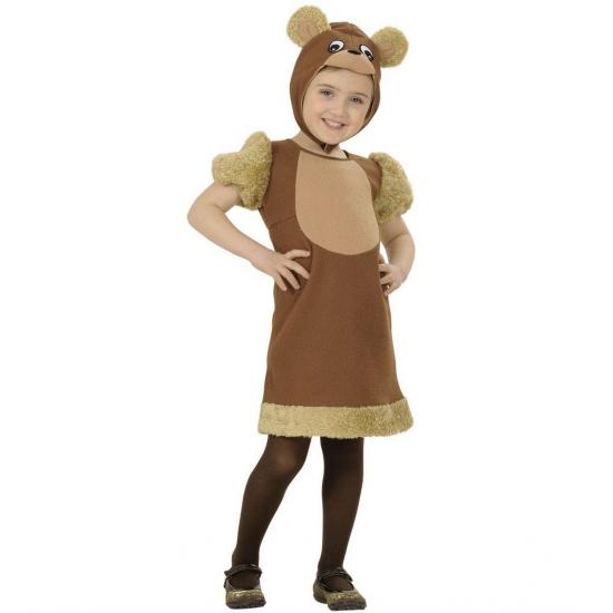 Beren verkleedjurkje voor meiden