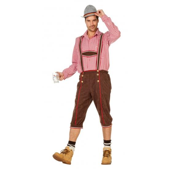 Bierfeest lederhose kostuum heren