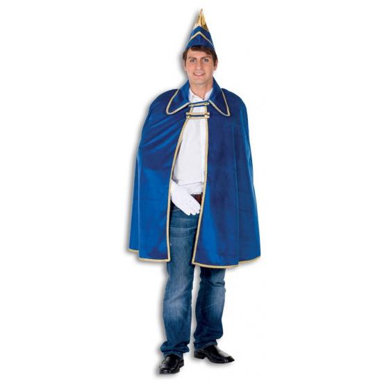 Geen Blauwe Prins Carnaval cape en hoed Fantasy en Sprookjes kostuums