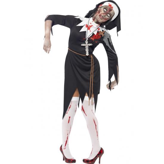 Bloederige non Halloween kostuum