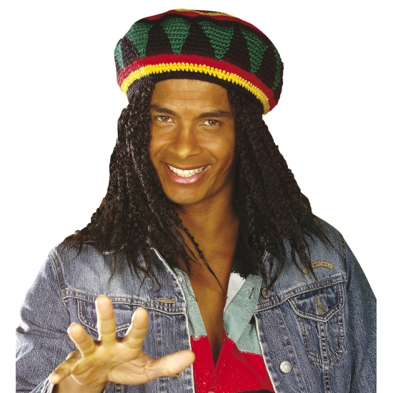 Feest hoeden Carnavalskostuum winkel Bob Marley muts rood geel groen
