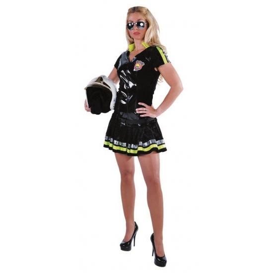 Carnavalskostuum winkel Brandweer jurkje dames Beroepen kostuums