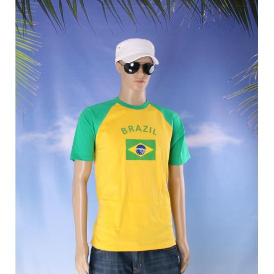 Brazil baseballshirts voor heren Shoppartners Landen versiering en vlaggen