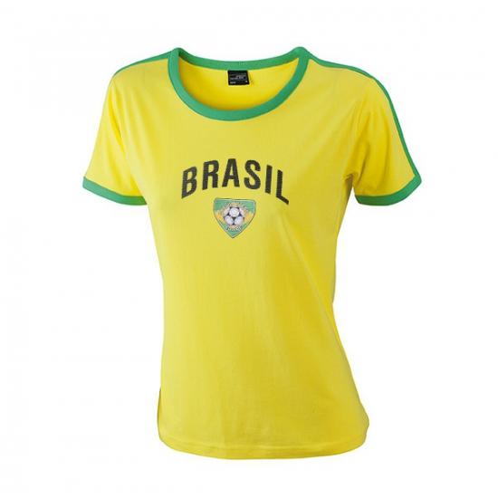 Braziliaans voetbal dames shirt