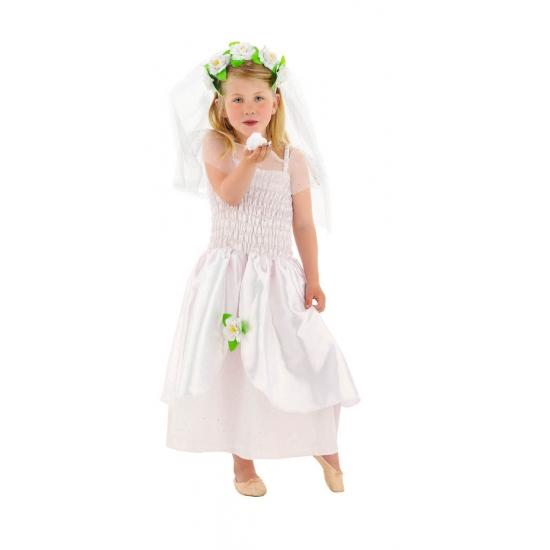 Bruidsjurk met sluier voor meisjes Geen Fantasy en Sprookjes kostuums