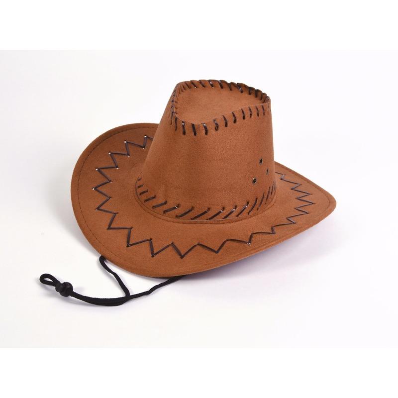 Feest hoeden Carnavalskostuum winkel Bruin gekleurde kinder cowboyhoed