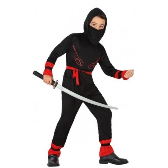 Budget ninja kostuum voor kinderen