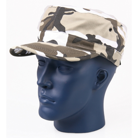 Camouflage army cap City