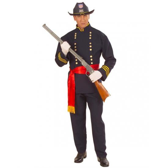 Carnaval Amerikaanse burgeroorlog kostuum