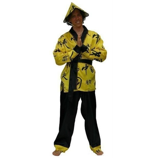 Carnaval Aziatisch kostuum voor heren