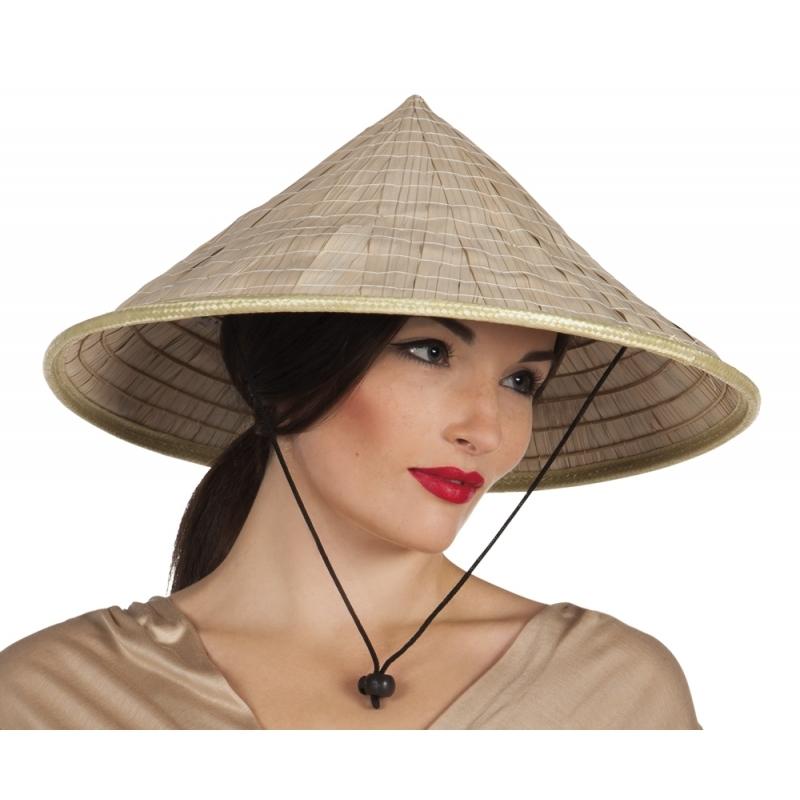 Carnavalskostuum winkel Carnaval Aziatische hoed Feest hoeden
